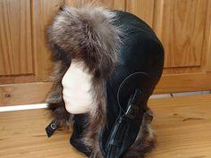 100/% Real Genuine Fox Fur Hat Cap Coiffure Femmes Cuir Taille Basse Bomber Femmes Y