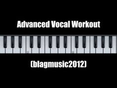 """advanced vocal workout - inspired by """"the voice uk"""" bbc one Singing Lessons, Singing Tips, Music Lessons, Vocal Lessons, Singing Exercises, Vocal Exercises, Vocal Coach, Vocal Range, Music Sing"""
