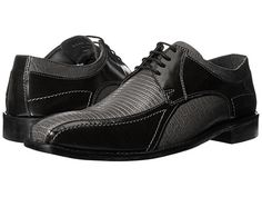 Stacy Adams Graziano Leather Sole Bike Toe Oxford