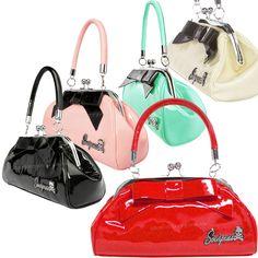 rockabilly purses   Floozy Retro PIN UP Handbag Rockabilly BAG 50'S Purse   eBay