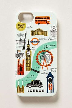 Anthropologie - London iPhone 5 Case