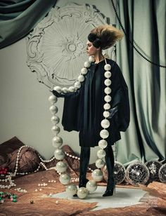 Lulu Frost | Onward, Lulu This strand of pearls.
