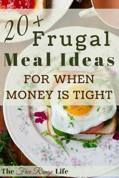 Budgeting Finances Discover 20 Frugal Meals for When Money is Tight Food makes up lot of our budgets. But what do you do when money is really tight? Here are 20 frugal meals to make when your budget is super small. Eat On A Budget, Budget Meal Planning, Tight Budget, Inexpensive Meals, Cheap Dinners, Easy Dinners, Super Cheap Meals, Cooking For A Crowd, Cooking On A Budget