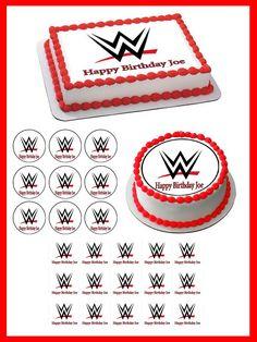 Wwe Cake Wwe Birthday Cakes Wwe Cake Wwe Birthday