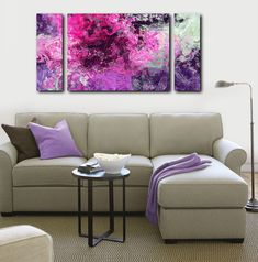 The whorls of purple in light and dark shades create an endearing scene in Purple Phase. This large wall art canvas invites the viewer to traverse streams of pink and purple shades that are set off on the boundary by light green tones. Use this contemporary abstract giclee print to create a burst of color in any drab room. This abstract art giclee print canvas print is a fine art canvas print from my original abstract painting. If color is important you can get an 8x10 inch COLOR PROOF at…