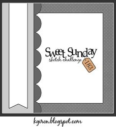 the sweetest thing...: Sweet Sunday Sketch Challenge 183