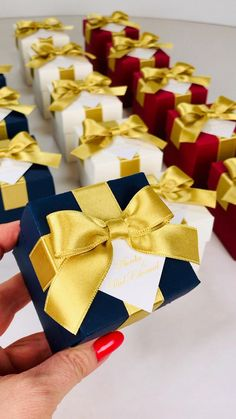 Wedding Candy Table, Candy Wedding Favors, Wedding Gifts For Guests, Wedding Favor Boxes, Personalized Wedding Favors, Unique Wedding Favors, Destination Wedding Welcome Bag, Wedding Welcome Bags, Navy Blue And Gold Wedding