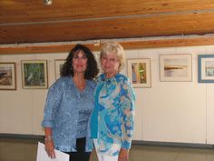 """Annette Uroskie won first prize in our Juried show last weekend at the Maritime Museum show of """"Chesapeake Treasures"""""""