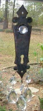 Keyhole Plate Suncatcher