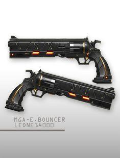 Resultado de imagen para armas de fuego futuristas