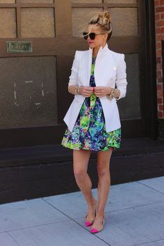 white blazer is the next essential