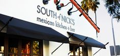South of Nicks--San Clemente, CA Awesome Mexican food and drinks.  As good as Javiar's yet 1/2 the bucks!