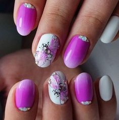 EASY PINK NAIL ART DESIGNS FOR WOMEN - Reny styles