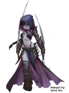 Halfling Assassin Dark Fantasy Art, Fantasy Kunst, Fantasy Women, Fantasy Rpg, Fantasy Girl, Fantasy Artwork, Anime Fantasy, Dnd Characters, Fantasy Characters