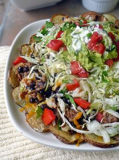 Life Tastes Good: Mexican Potato Nachos