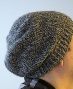 I have to admit, I've knit this hat countless times, but I don't have one for myself. Without fail, every time I finish one, a friend or family member will try it on and I exclaim how good it looks on them and gift it. This is my most recent version. I wore it exactly once before it was stolen o