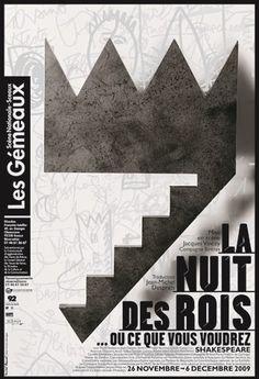 Affiche par Michel Bouvet #Affiche #Théâre #Poster #Theater