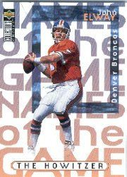 1997 Collector's Choice #52 John Elway NG by Collector's Choice. $2.00. 1997 Upper Deck Co. trading card in near mint/mint condition, authenticated by Seller