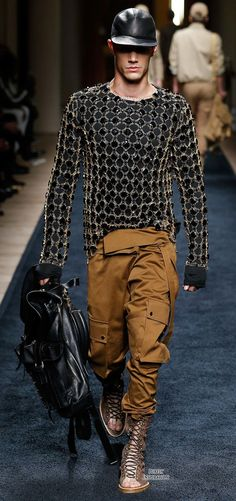 Balmain SS2016 Men's Fashion RTW | Purely Inspiration