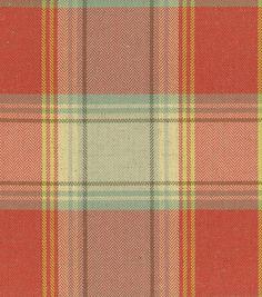 Upholstery Fabric-Waverly Carpet Ride Radish