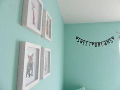Mila's kamer   mintgroen   babykamer   kidsroom