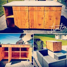 #OutOfOfficeIsland Creation by Timber - De Houtpraktijk. www.timberbelgium.be