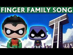 Daddy Finger Song Teen Titans - Finger Family Teen Titans - Nursery Rhymes for Children