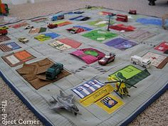 car mat - must make this
