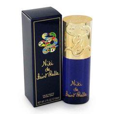 Niki de Saint Phalle Niki De Saint Phalle is een damesgeur met een bloemig en houtig karakter. Deze geur uit 1982 heeft topnoten van artemisia, munt, groen, perzik en bergamot, hartnoten van anjer, patchouli, liswortel, jasmijn, ylang-ylang, ceder en roos en een basis van leder, sandelhout, muskus, amber en eikenmos