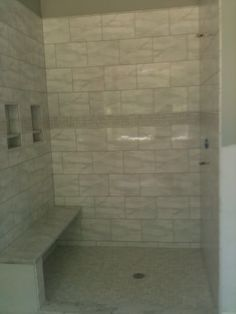 Penny tile accent in the bathroom bathroom remodels pinterest examples ps and tile - Forever tile and stone ...