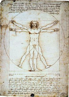 A great poster of The Vitruvian Man by Leonardo da Vinci - the famous illustration from the Italian Renaissance! Need Poster Mounts. Renaissance Kunst, Renaissance Men, Renaissance Recipe, Renaissance Humanism, Italian Renaissance Art, Figure Drawing, Painting & Drawing, Figure Painting, Da Vinci Vitruvian Man