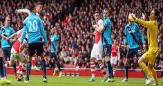 Live: Arsenal vs Stoke City