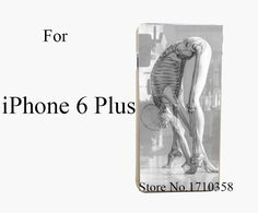 skeletal yoga Style Fashion Hard Transparent Clear Back Style Case for iPhone 6 6s