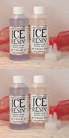 Other Jewelry Making Tools 160680: Ice Resin 16Oz Refill Kit-8 Oz Resin 8 Oz Hardender -> BUY IT NOW ONLY: $35.92 on eBay!