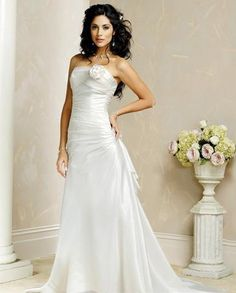 wedding dresses a line wedding dresses with sleeves wedding dresses gypsy flower a line strapless wedding dresses chapel train