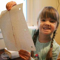 Tiny Sewists: Teaching Kids to Sew :: Lesson 4 | A Jennuine LifeA Jennuine Life