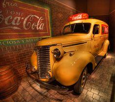 Coca Cola Delivery Truck from Reginald Lee S.A. in Buenos Aires, World of Coca Cola, Atlanta, Georgia