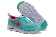 Nike Air Max Thea Womens Mint Green Red | Nike air max, Nike