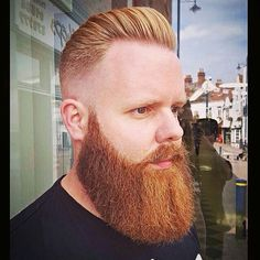 cool 100 Trendy Fade Haircut For Men - Nice 2017 Looks Best Fade Haircuts, Hipster Haircuts For Men, Cool Haircuts, Man Haircuts, Undercut Pompadour, Undercut Hairstyles, Old School Haircuts, Afro Fade, Red Beard