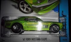 HOT WHEELS 2014 MUSTANG 50TH  '67 FORD MUSTANG COUPE
