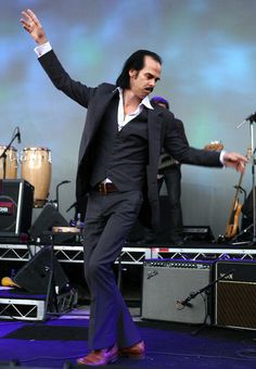 Nick Cave: In a 2008 interview with Beat Magazine, Nick expressed a desire to return to the original pronunciation of his name - Ka-VAY... I so adore his sense of Hum-Or.