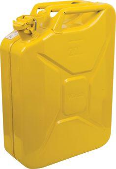 20 Litre Yellow Jerry Can   Princess Auto