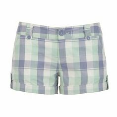 Maurices Plaid Shorts Rolled Tab Plaid Shorts. Perfect condition. 100% cotton Maurices Shorts Skorts