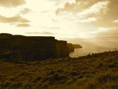 Cliffs of Moher, Galway, Ireland.  Serenity.
