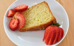Love this simple light yogurt cake. Canola oil and greet yogurt instead of butter and milk. Didn't add nutmeg but did add a splash of rose water