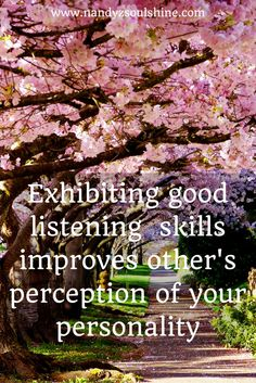 Developing good listening skills for success