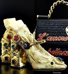 Dolce & Gabbana Spring Summer 2018 #dolcegabbana #shoes
