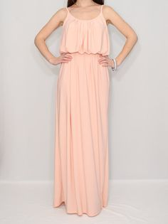 Hey, I found this really awesome Etsy listing at https://www.etsy.com/listing/175747569/peach-dress-maxi-dress-summer-bridesmaid