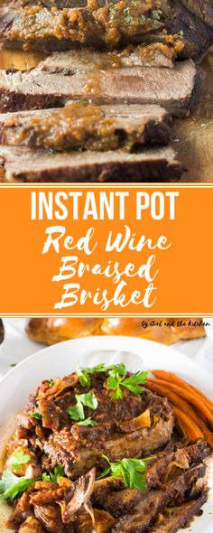 Meet your new weeknight dinner best friend! This Instant Pot brisket is done in one hour, including a heavenly sauce loaded with savory flavors!