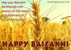 May the divine Waheguru bless you with joy, love, happiness, contentment and eternal peace!Happy Baisakhi to All by  Happy Baisakhi, E Cards, Harvest, Blessed, Herbs, Peace, Joy, Seasons, Contentment